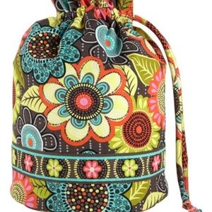 Vera Bradley Flower Shower Ditty Bag